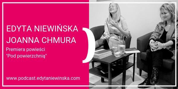 """PO 14 / Edyta Niewińska i Joanna Chmura – premiera powieści """"Pod powierzchnią"""" 20 listopada 2018"""